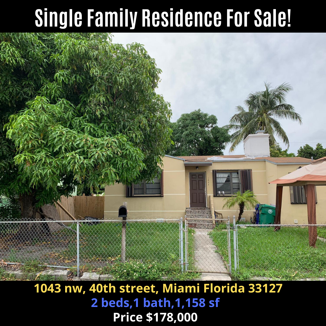 Single Family Residence For Sale!